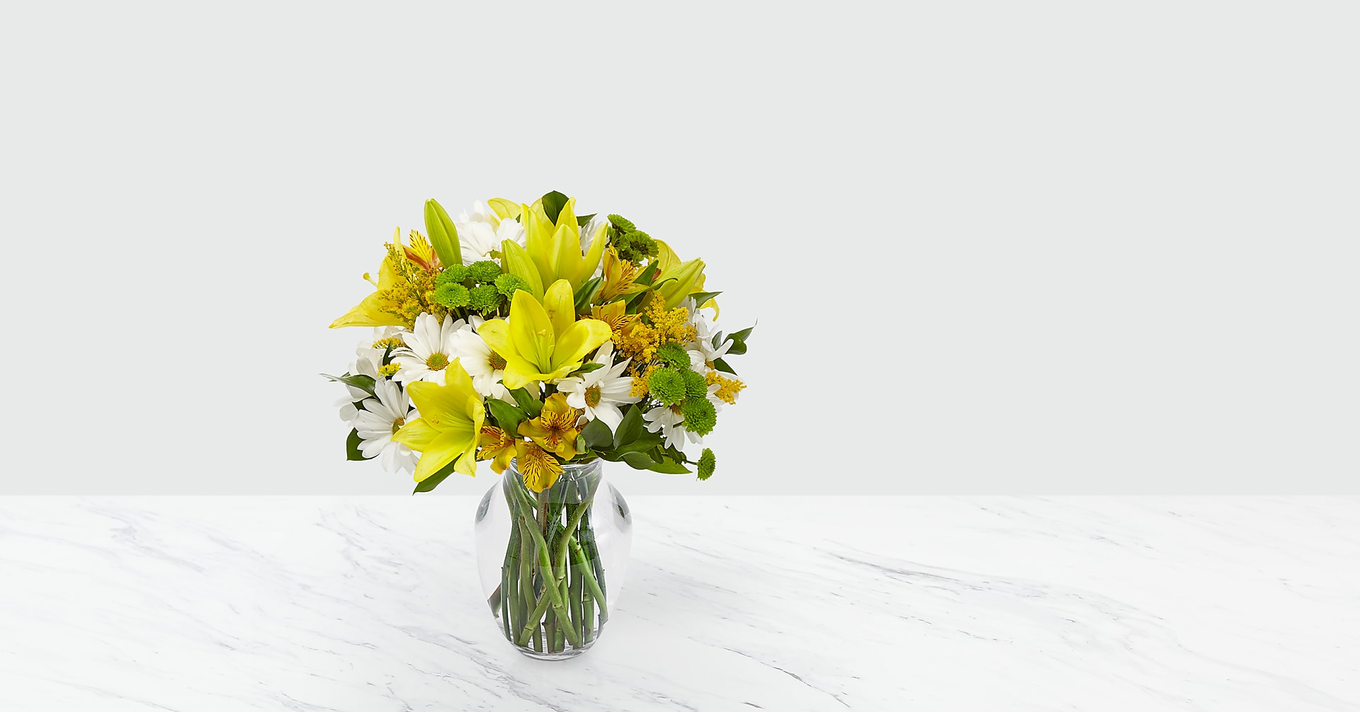Come Rain or Come Shine Bouquet - VASE INCLUDED - Image 1 Of 6