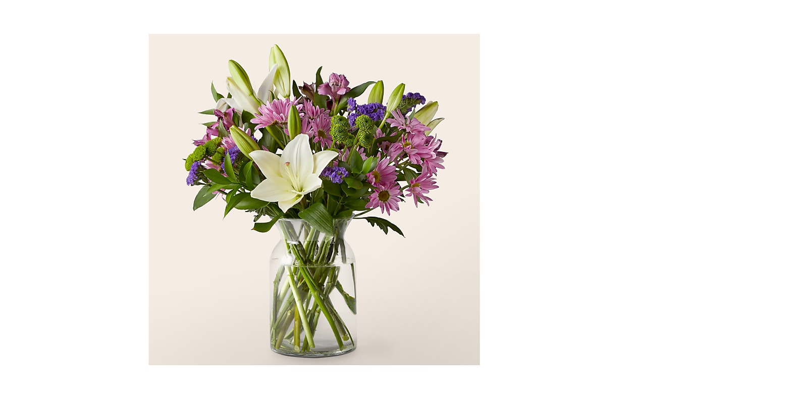 Lavender Fields Mixed Flower Bouquet - Image 1 Of 6