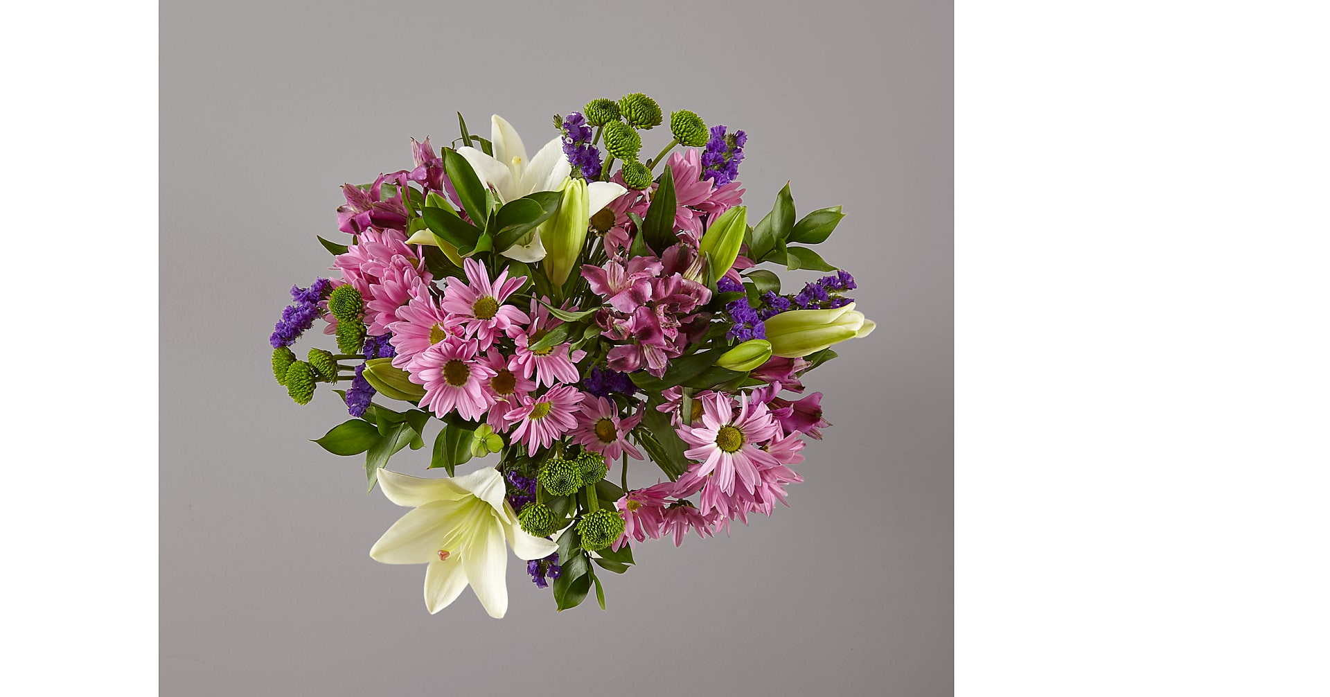 Lavender Fields Mixed Flower Bouquet - VASE INCLUDED - Image 3 Of 6