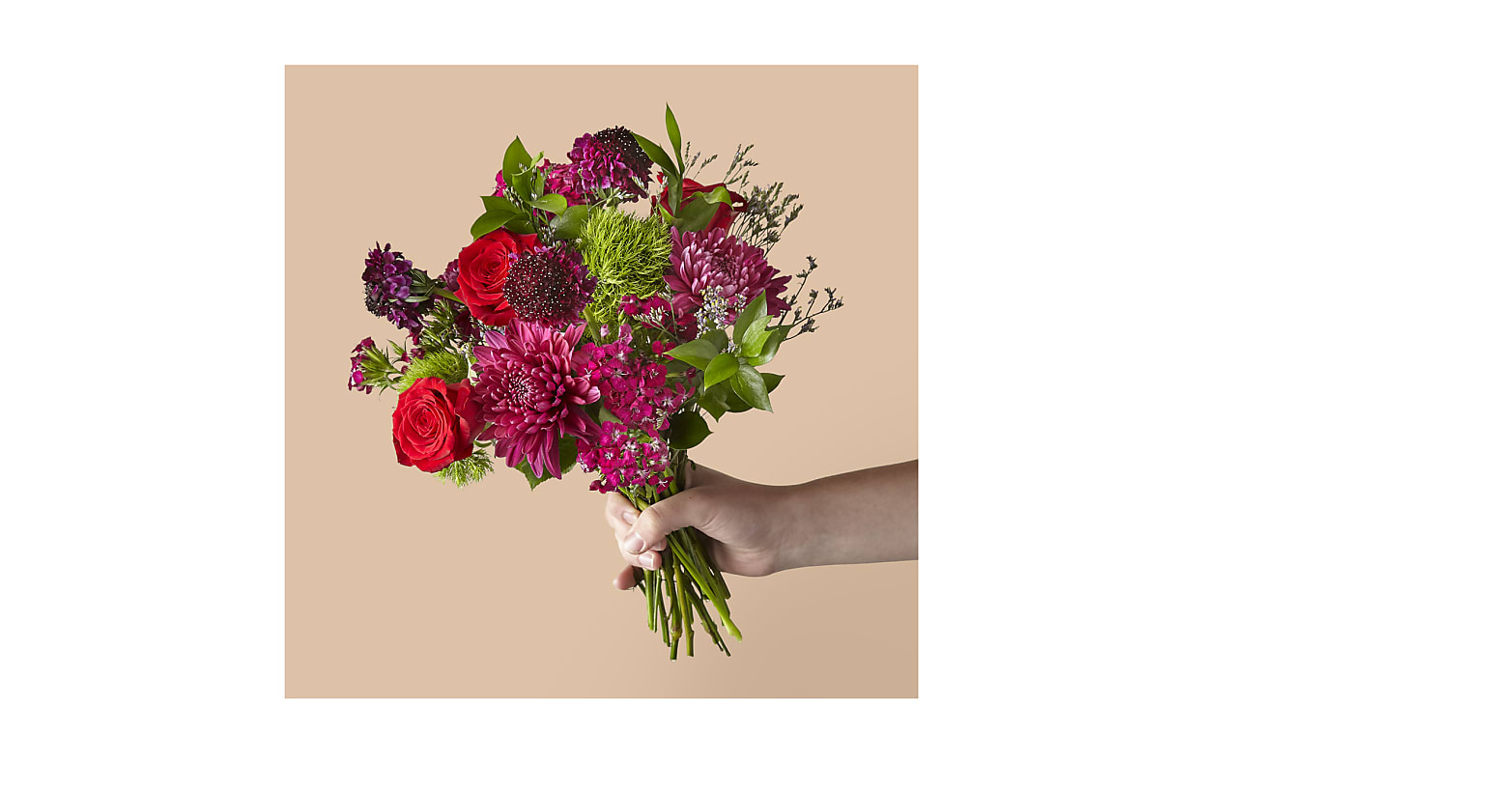 The Faith Bouquet with St. Jude - Image 1 Of 2