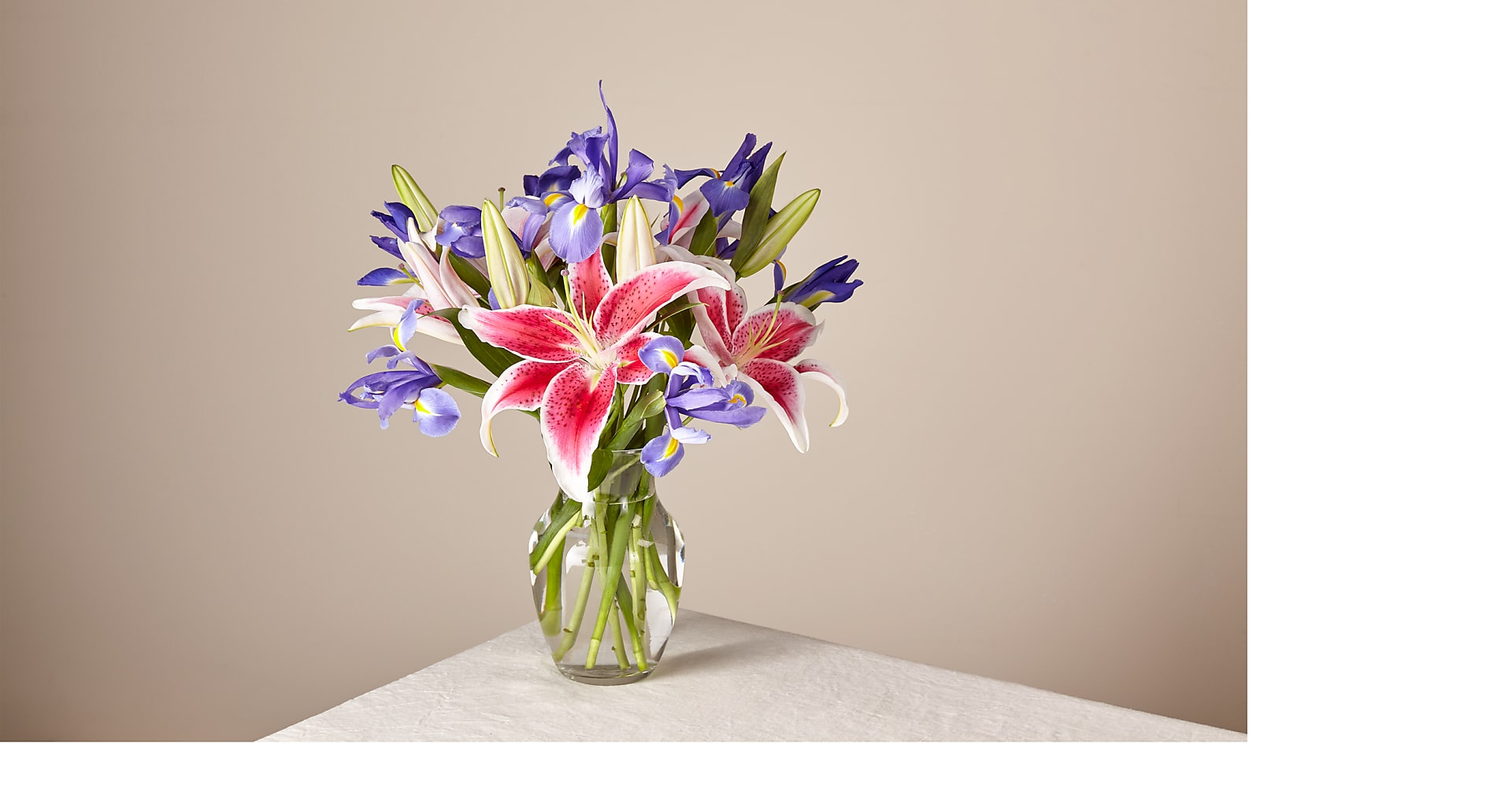 Belle of the Ball Bouquet with Vase - Image 1 Of 2