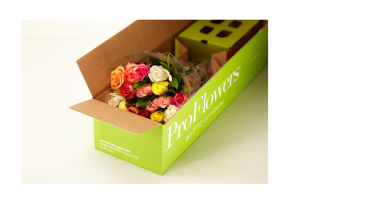 Mixed Roses with Vase - Image 7 Of 8