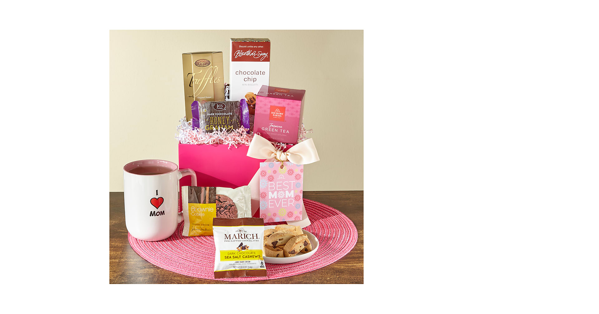 Sip and Snack Tea Box for Mom