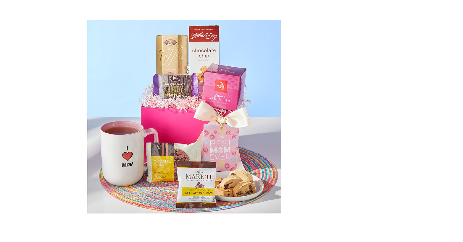 Deluxe Mother's Day Tea & Treats Gift Box