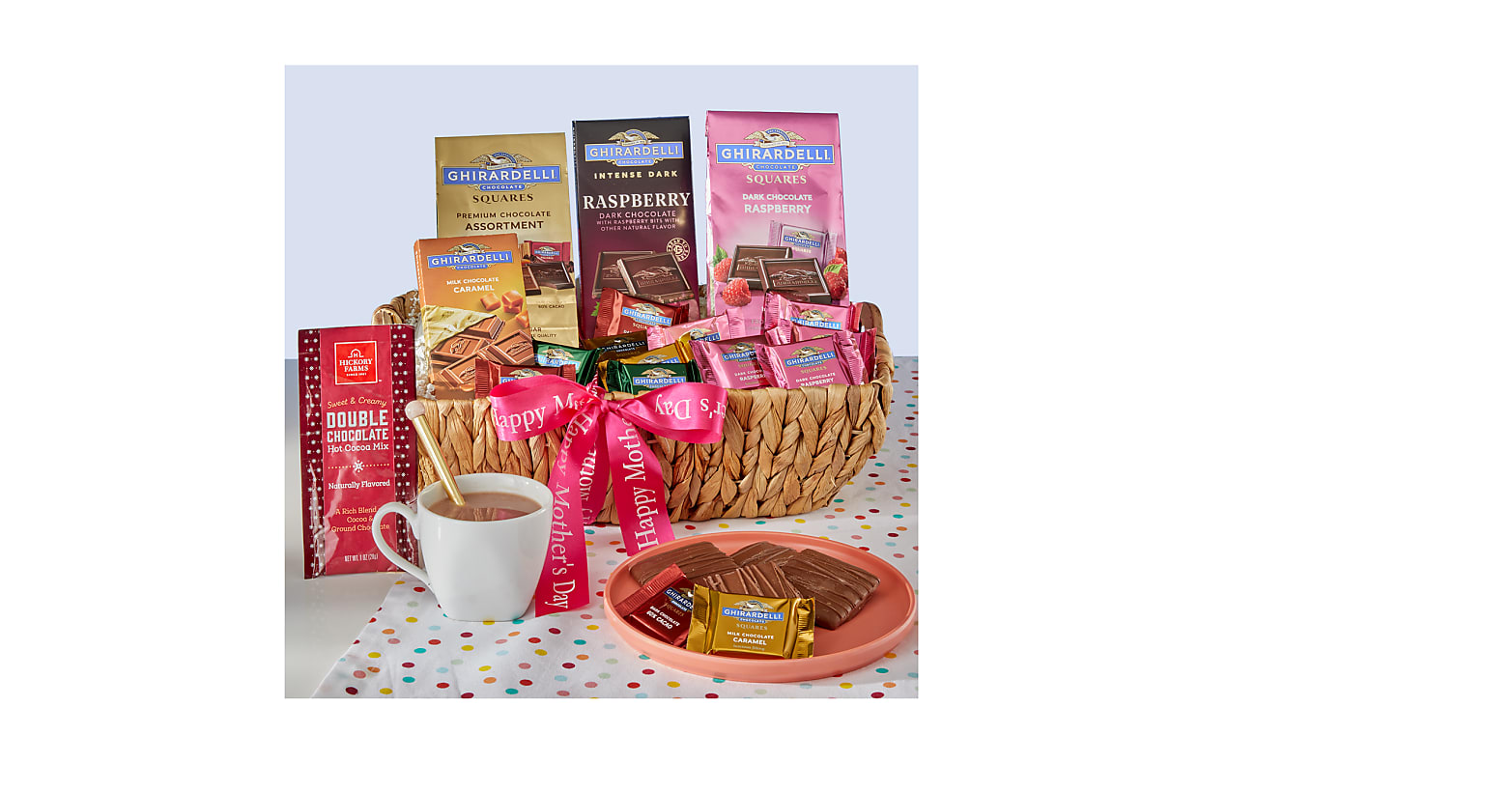 Ghirardelli® Mother's Day Gift Basket - Image 1 Of 2
