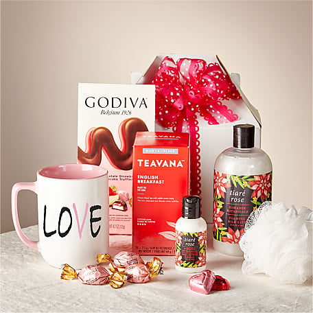 Love & Rose Valentine Spa Gift Set
