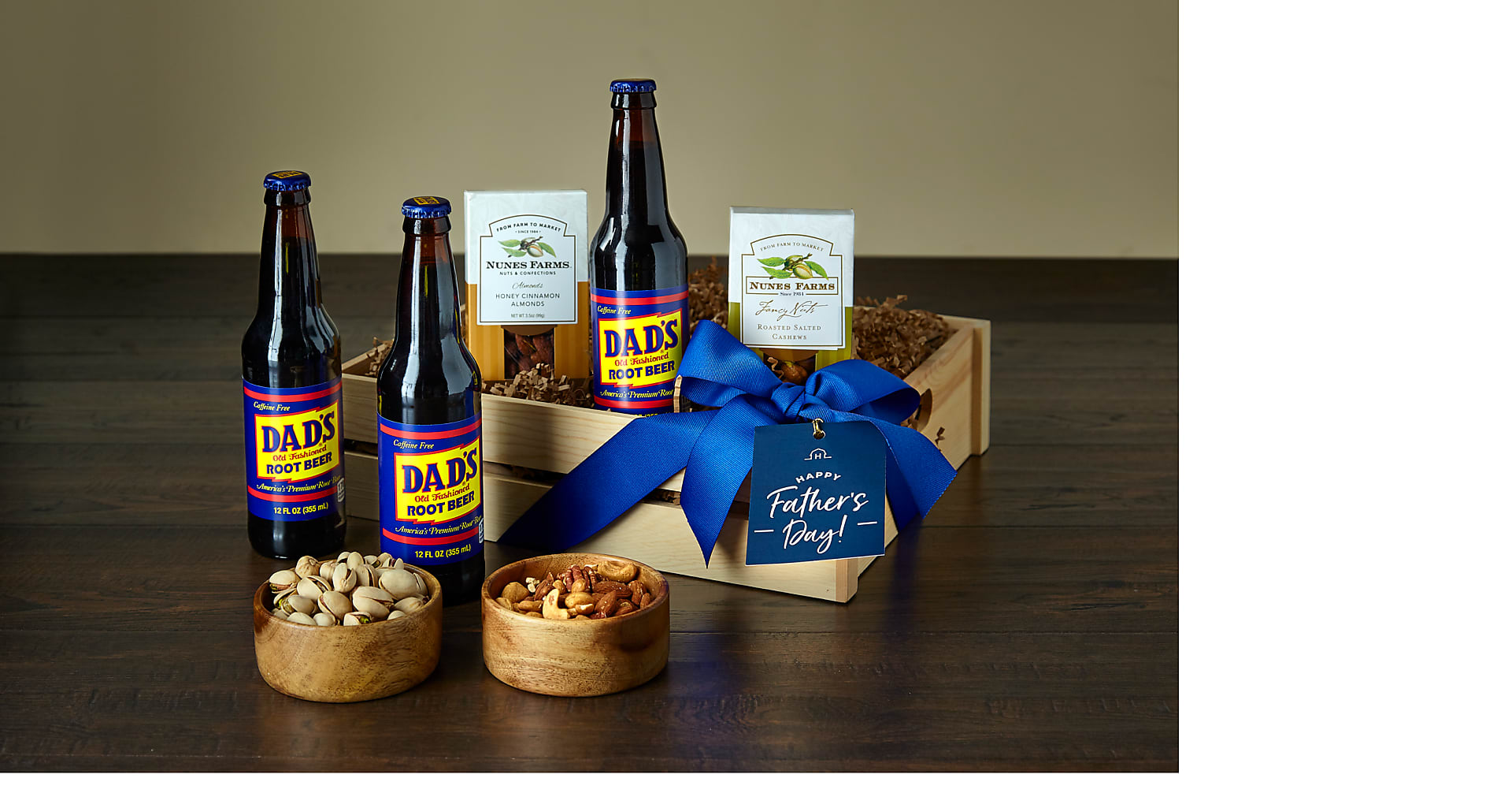 Nuts About Dad Root Beer & Nuts Gift Set - Image 1 Of 2
