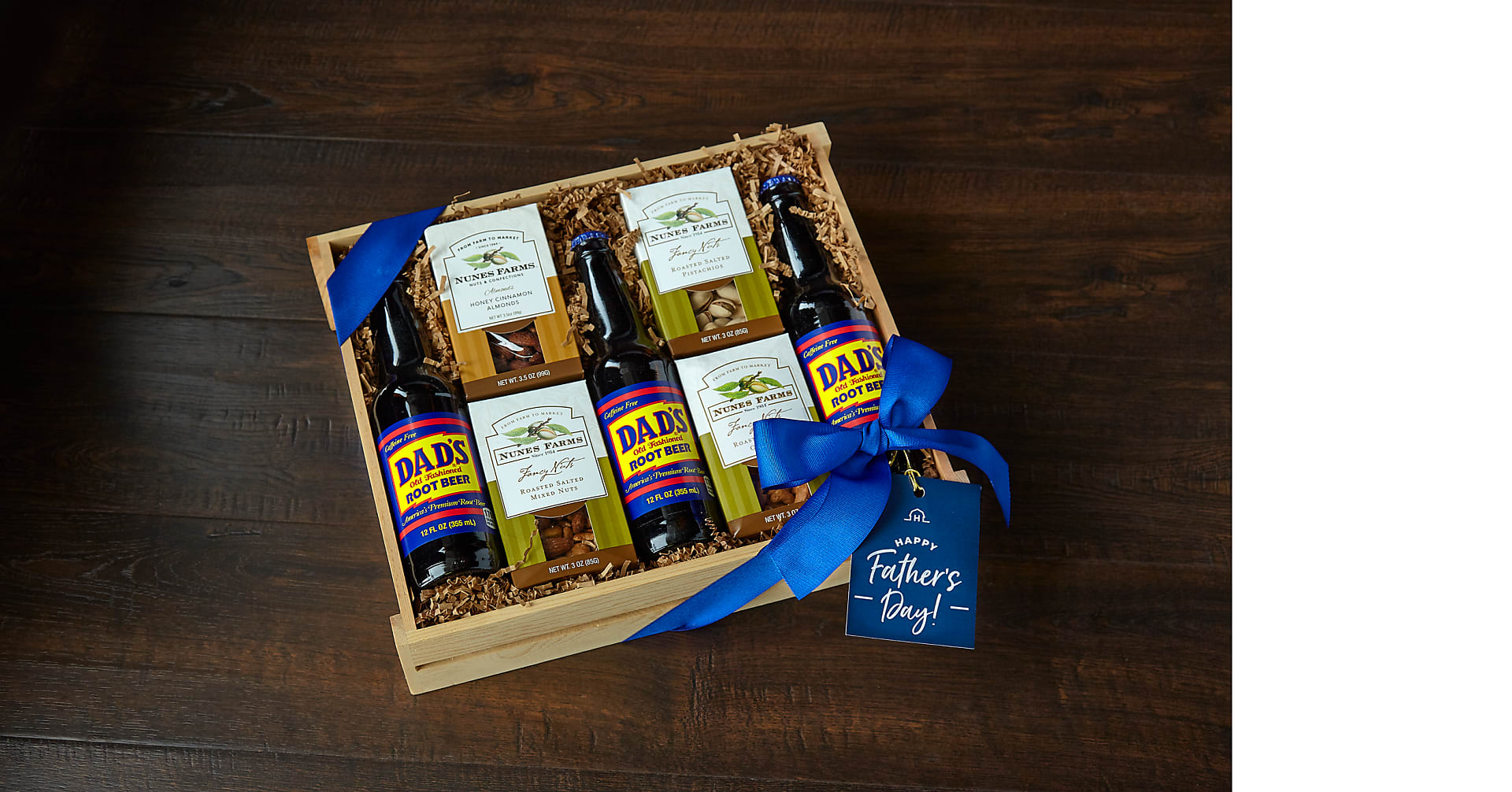 Nuts About Dad Root Beer & Nuts Gift Set - Image 2 Of 2