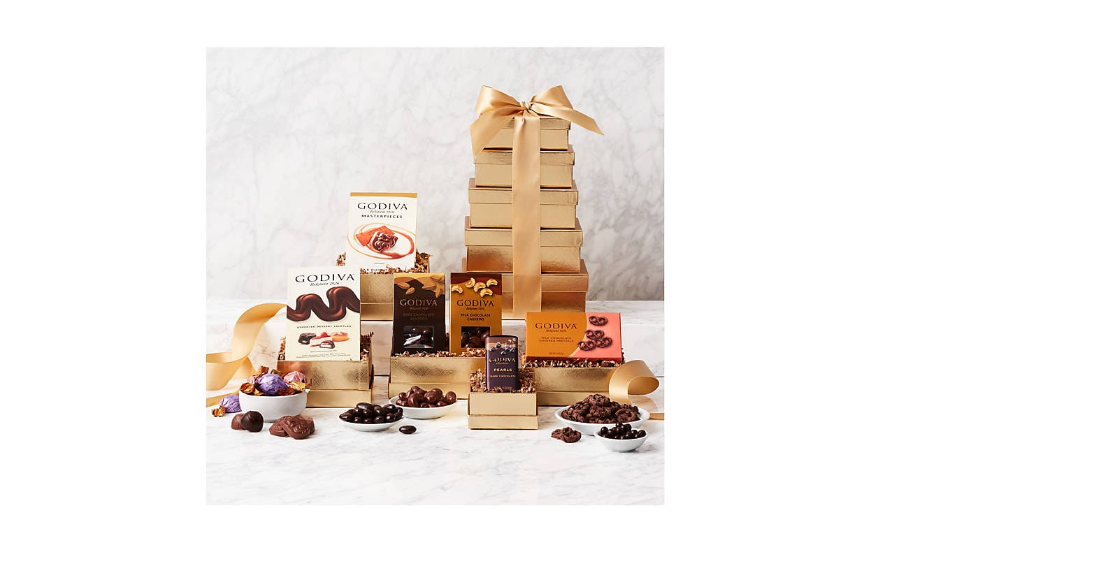 Golden Tower of Godiva Gift Tower