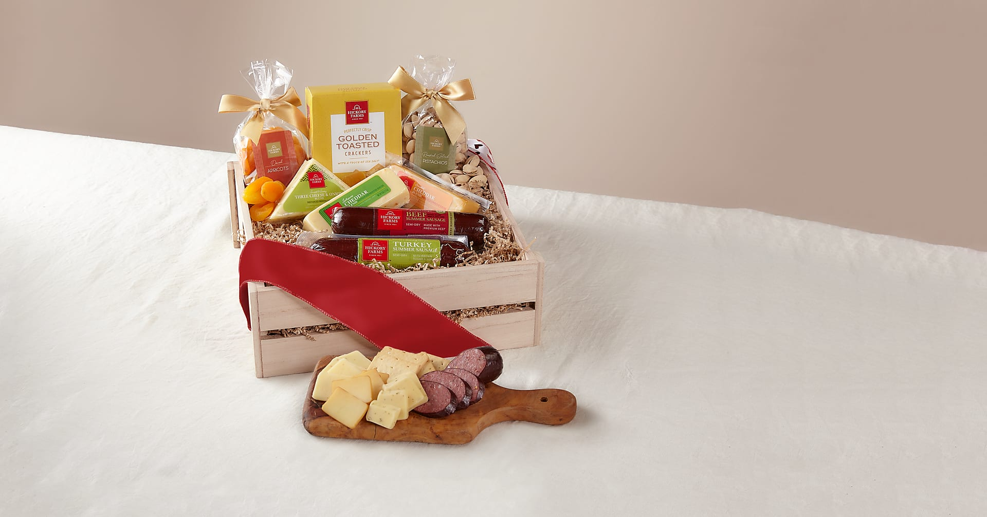 Meat & Cheese Charcuterie Gift Basket