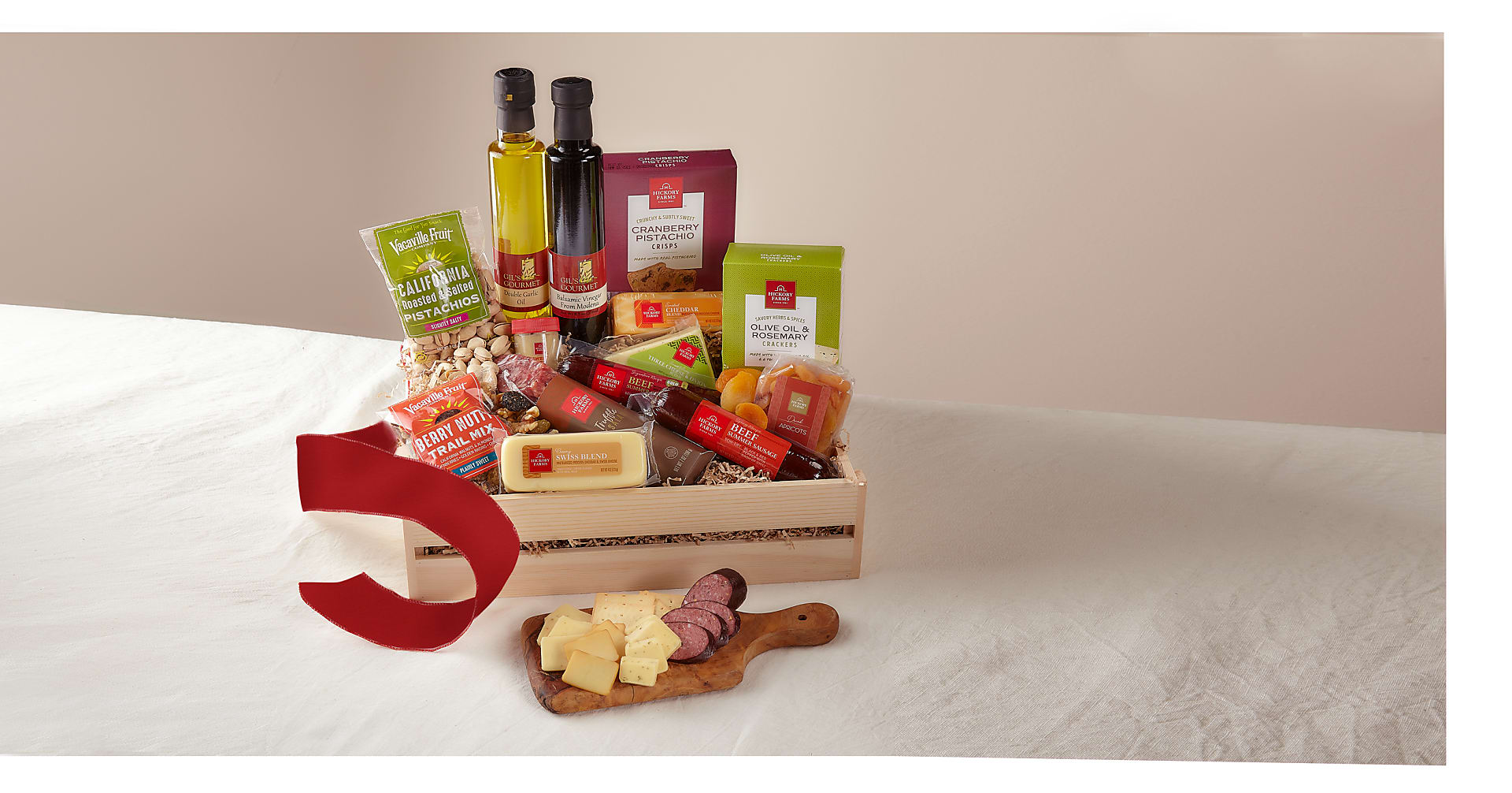 Meat & Cheese Charcuterie Gift Crate- Best - Image 1 Of 2