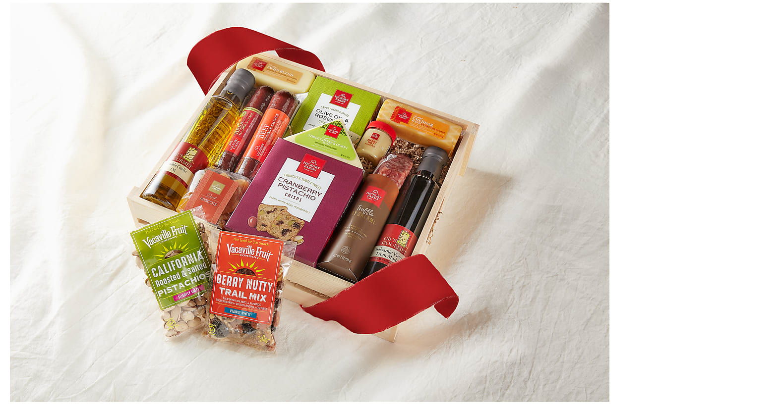 Meat & Cheese Charcuterie Gift Crate- Best - Image 2 Of 2