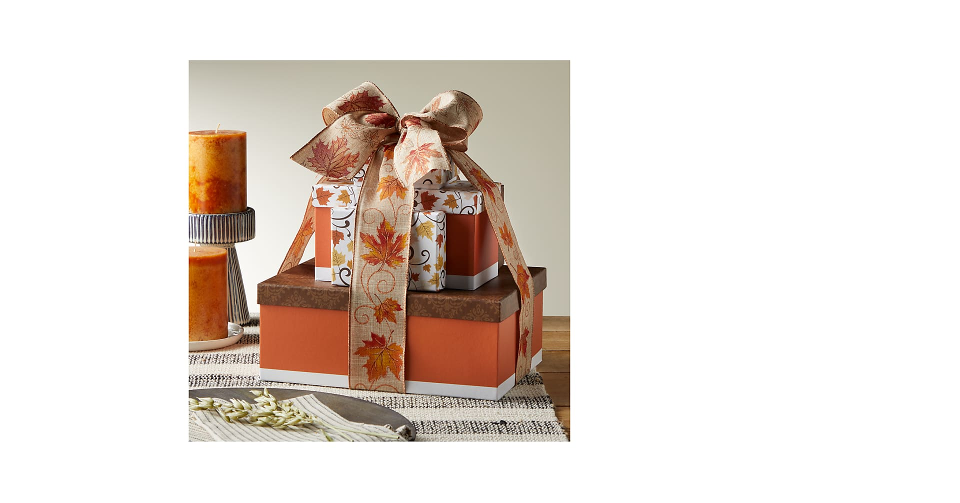 Wonderful Fall Sweets Tower - Image 2 Of 2