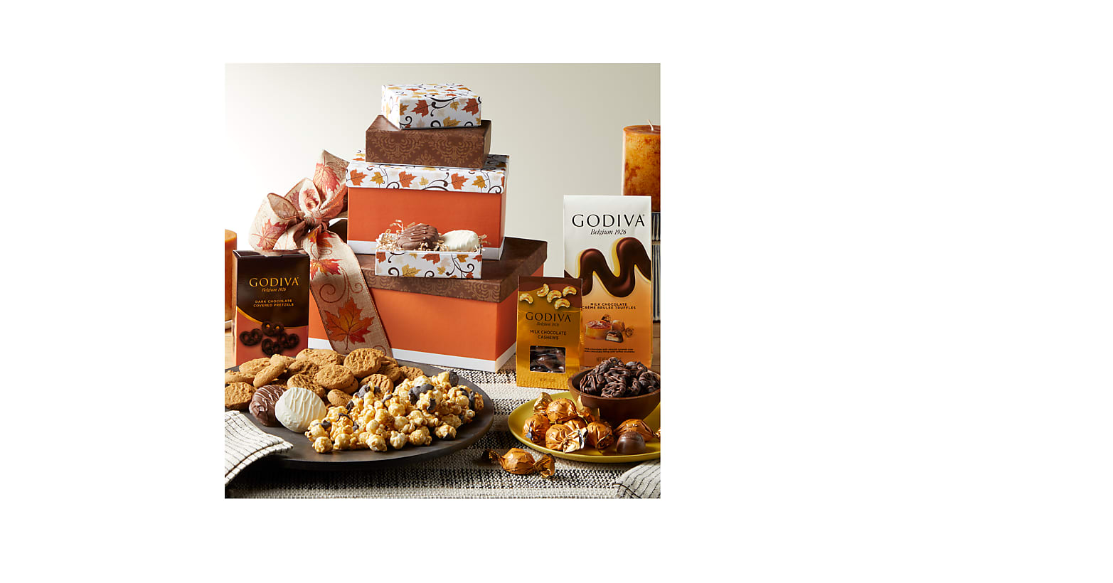 Wonderful Fall Sweets Tower - Image 1 Of 2