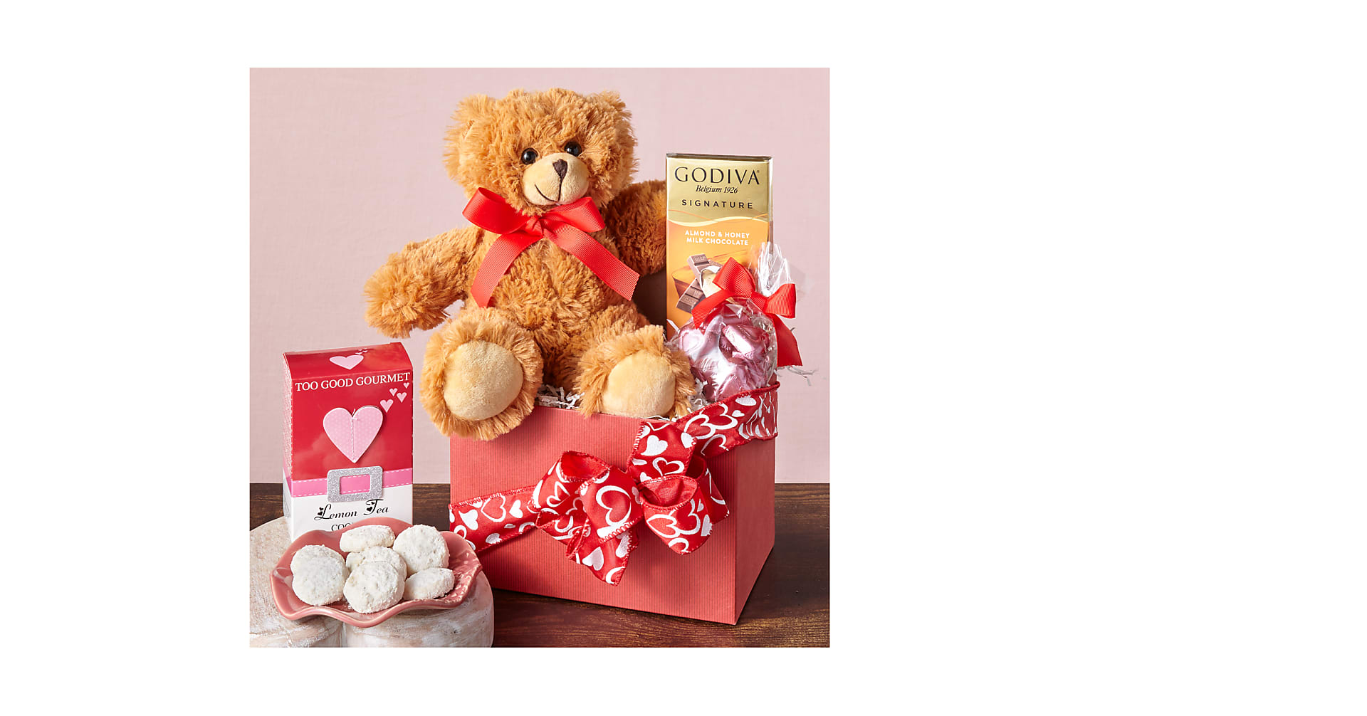 For the Beary Best Valentine Gift Box - Image 1 Of 2