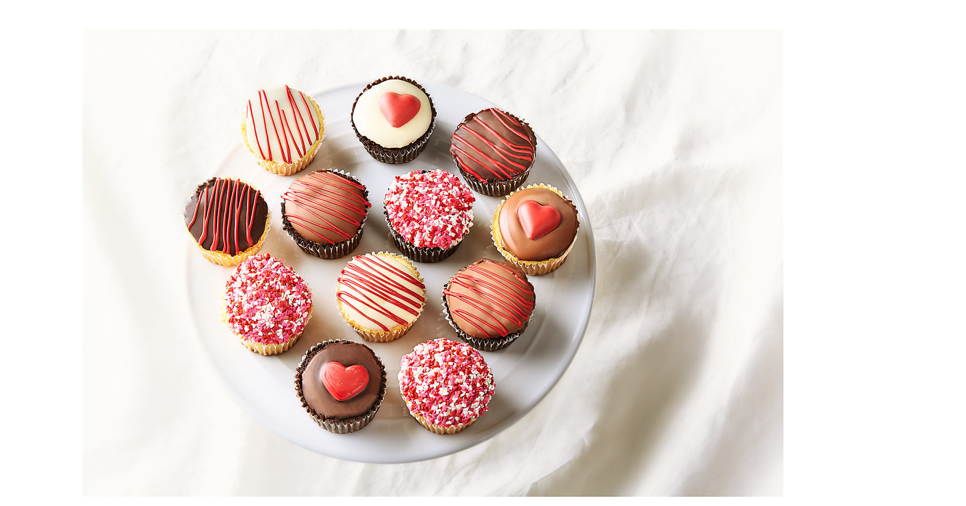 Sweetheart Belgian Chocolate Dipped Cupcakes - Image 2 Of 2