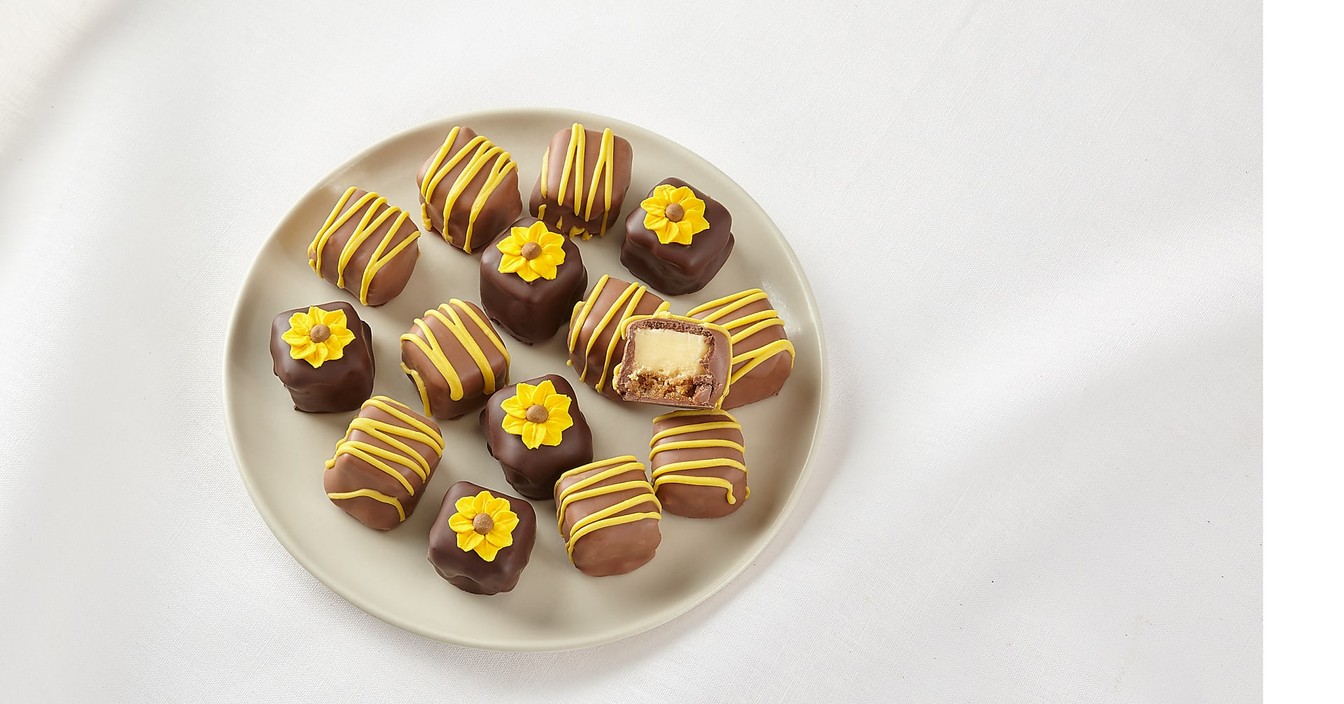 Sunny Days Chocolate-Covered Cheesecake Bites - Image 2 Of 2
