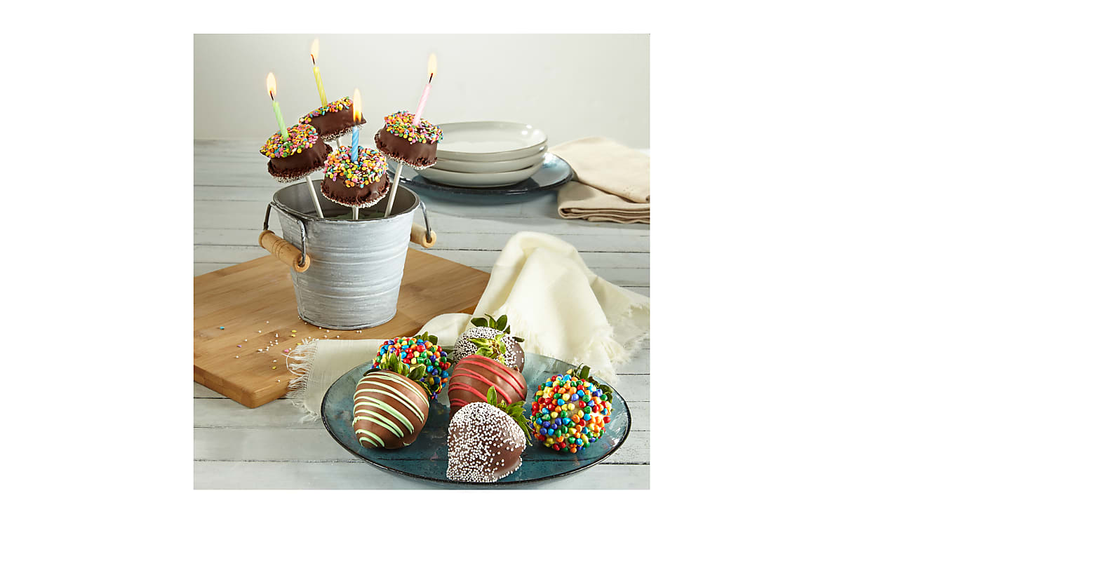 COMBO - Birthday 'BDAY' BERRY-GRAM® & Brownie Pops