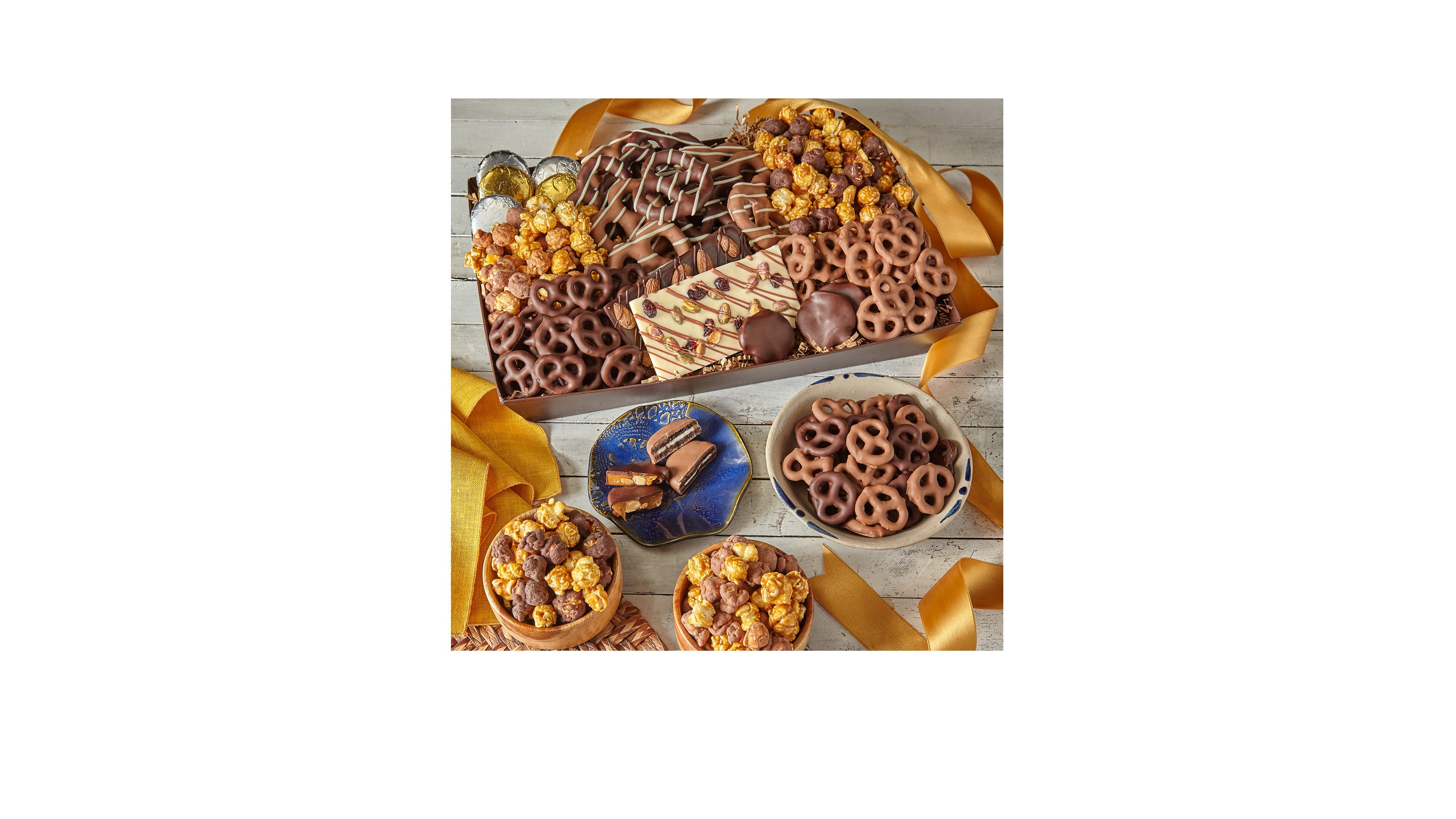Sweet Tooth Belgian Chocolate–Dipped Treat Tray