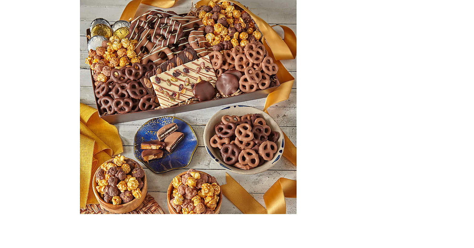 Sweet Tooth Belgian Chocolate–Dipped Treat Tray - Image 2 Of 2
