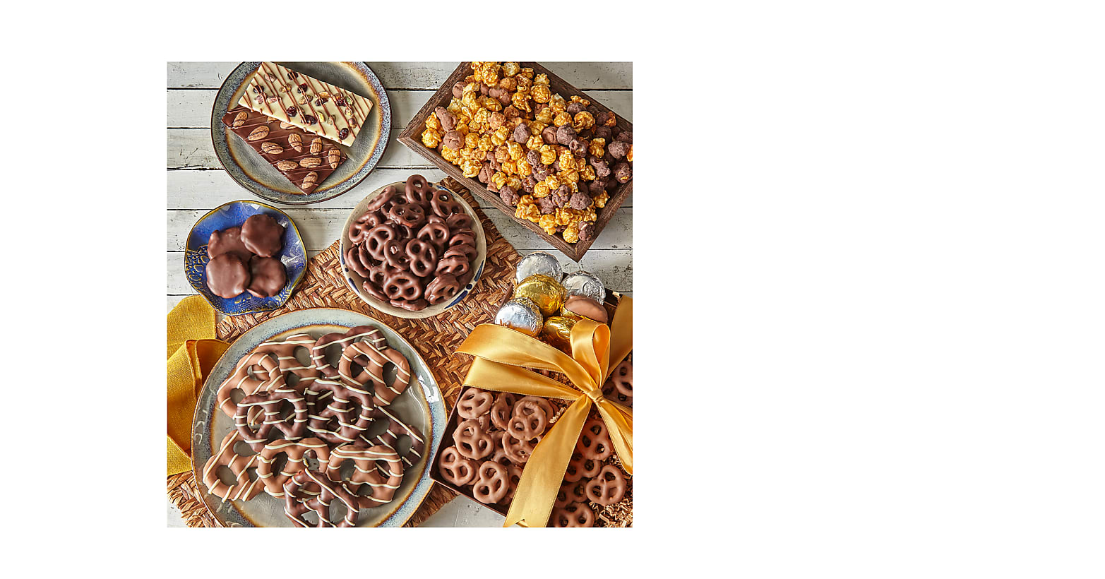 Sweet Tooth Belgian Chocolate–Dipped Treat Tray - Image 1 Of 2
