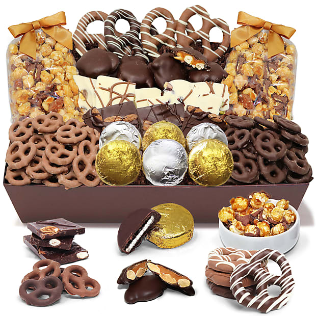Sensation Belgian Chocolate Covered Snack Tray