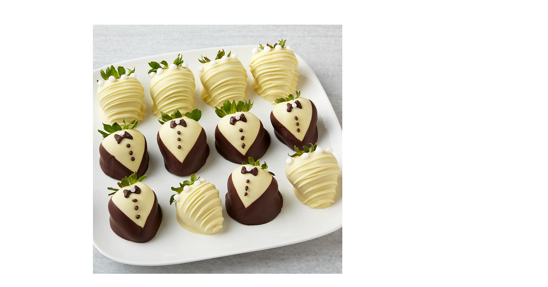 To the Bride and Groom Chocolate Covered Strawberries