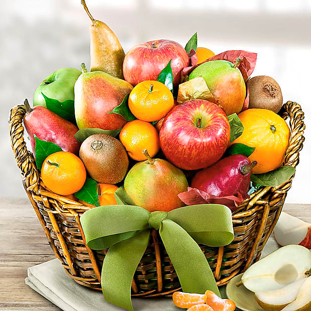 Fruitful Life Gourmet Gift Basket