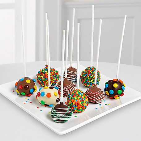 Awesome Birthday Cake Pop Get A Birthday Cake Pop Bouquet Delivered Personalised Birthday Cards Cominlily Jamesorg