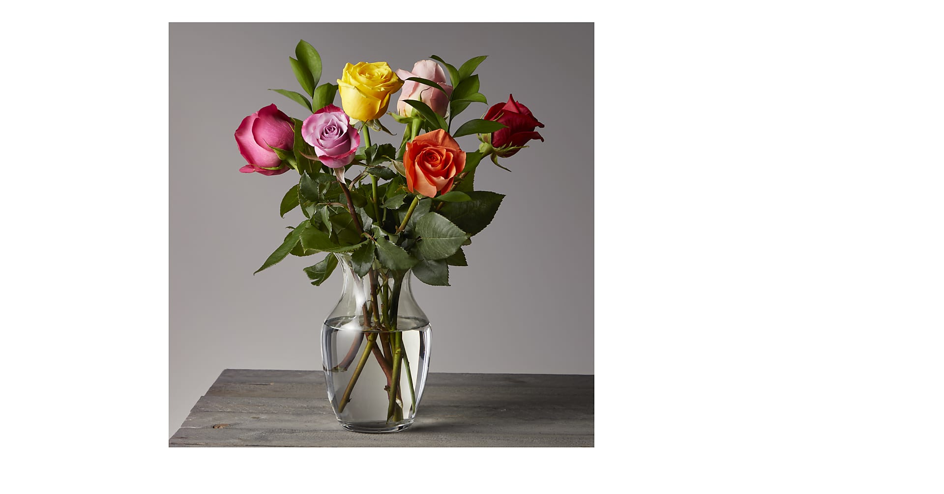 Happy Day Mixed Rose Bouquet
