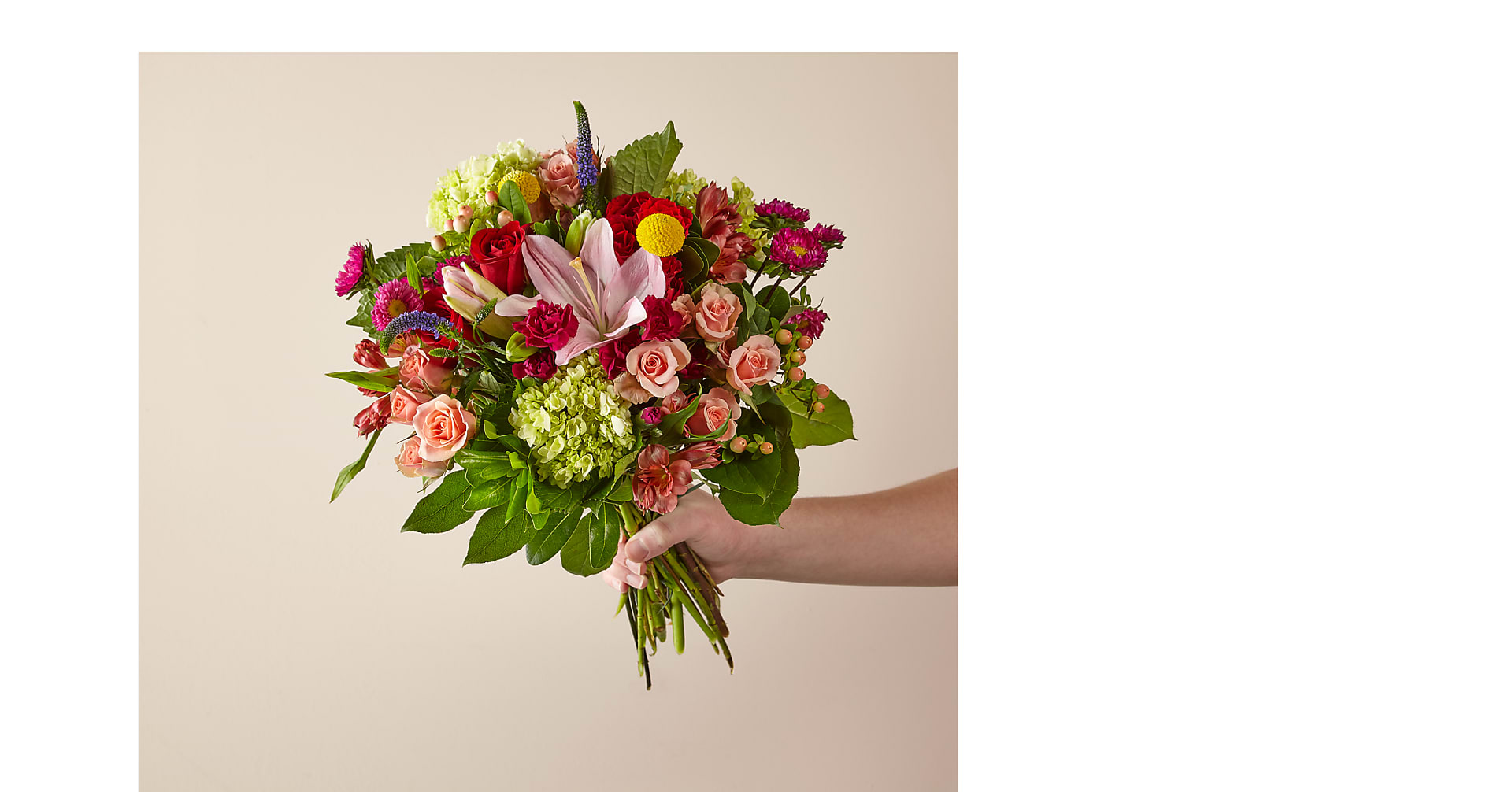 The Tayde Bouquet with St. Jude - Image 1 Of 3