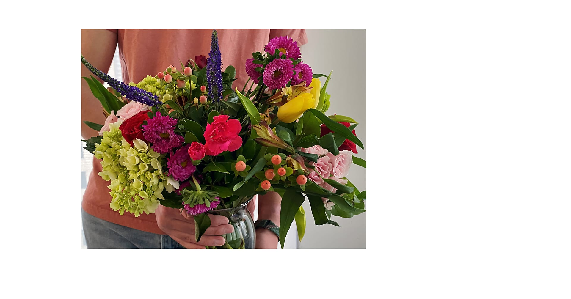 The Tayde Bouquet with St. Jude - Image 2 Of 2