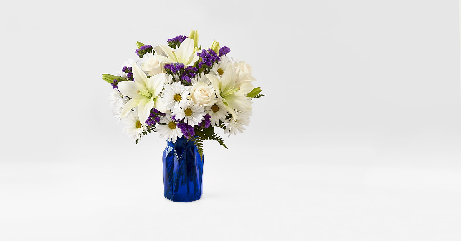 Beyond Blue Bouquet - Image 1 Of 3