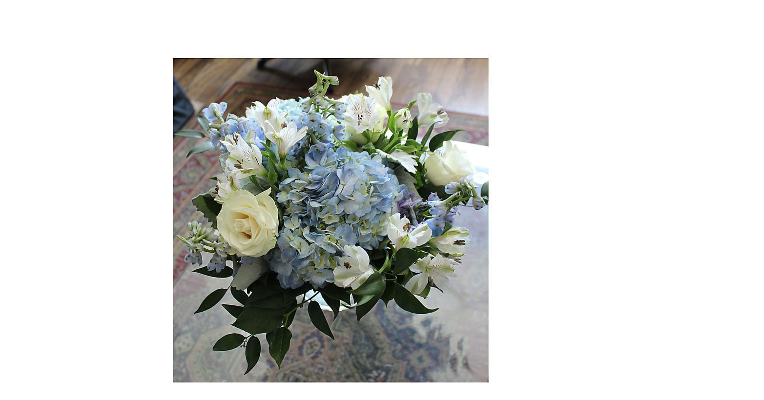 Clear Skies Bouquet - Image 4 Of 4