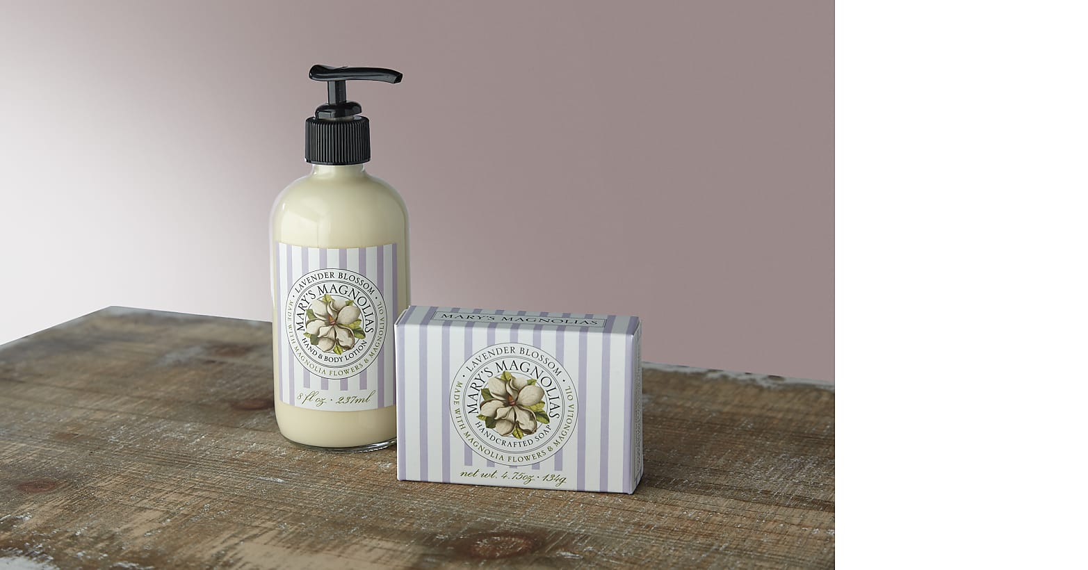 Magnolia Sapling with Lavender Soap & Lotion Duet - Image 4 Of 4