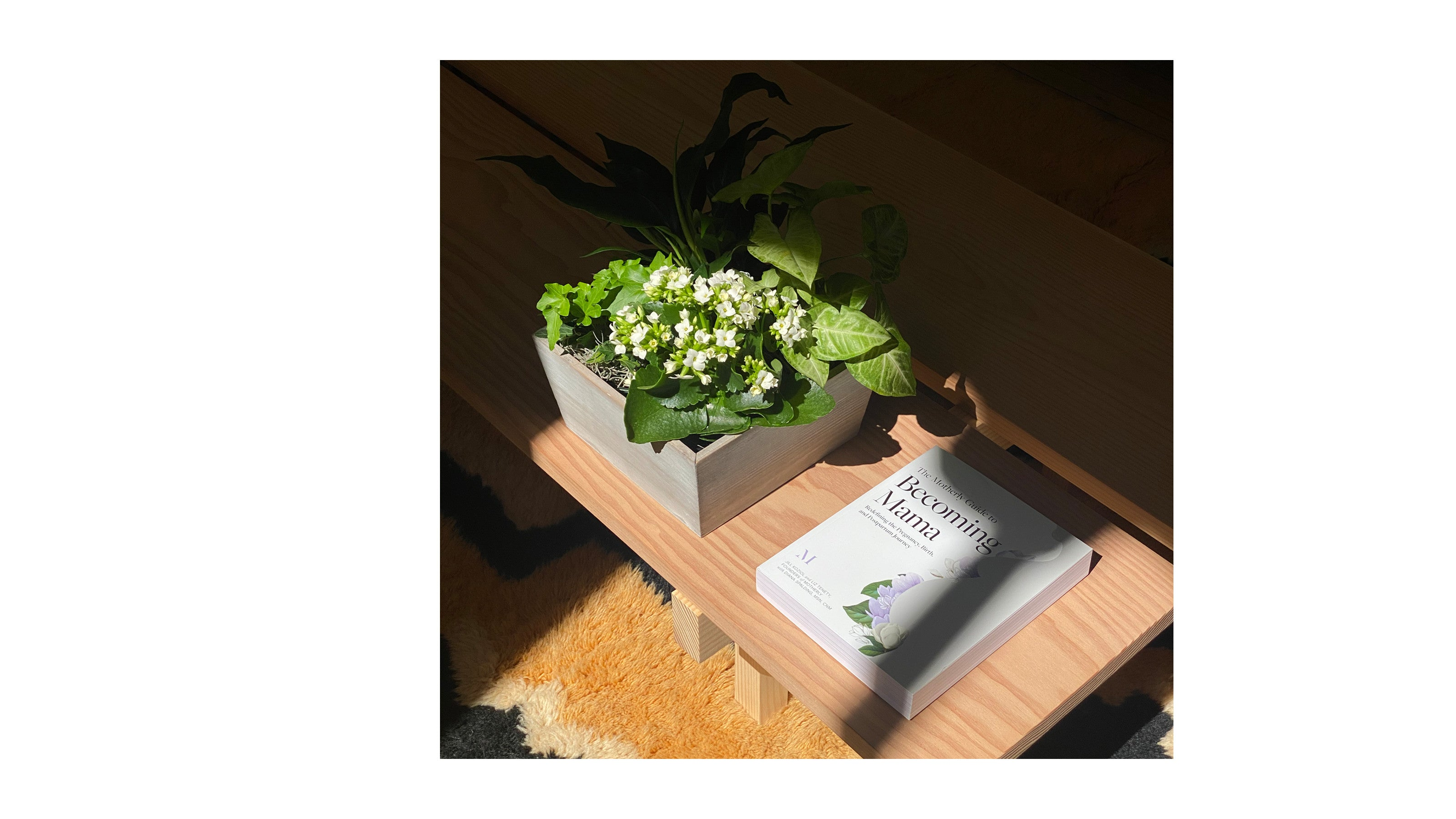 Becoming Mama Garden + Book by Motherly