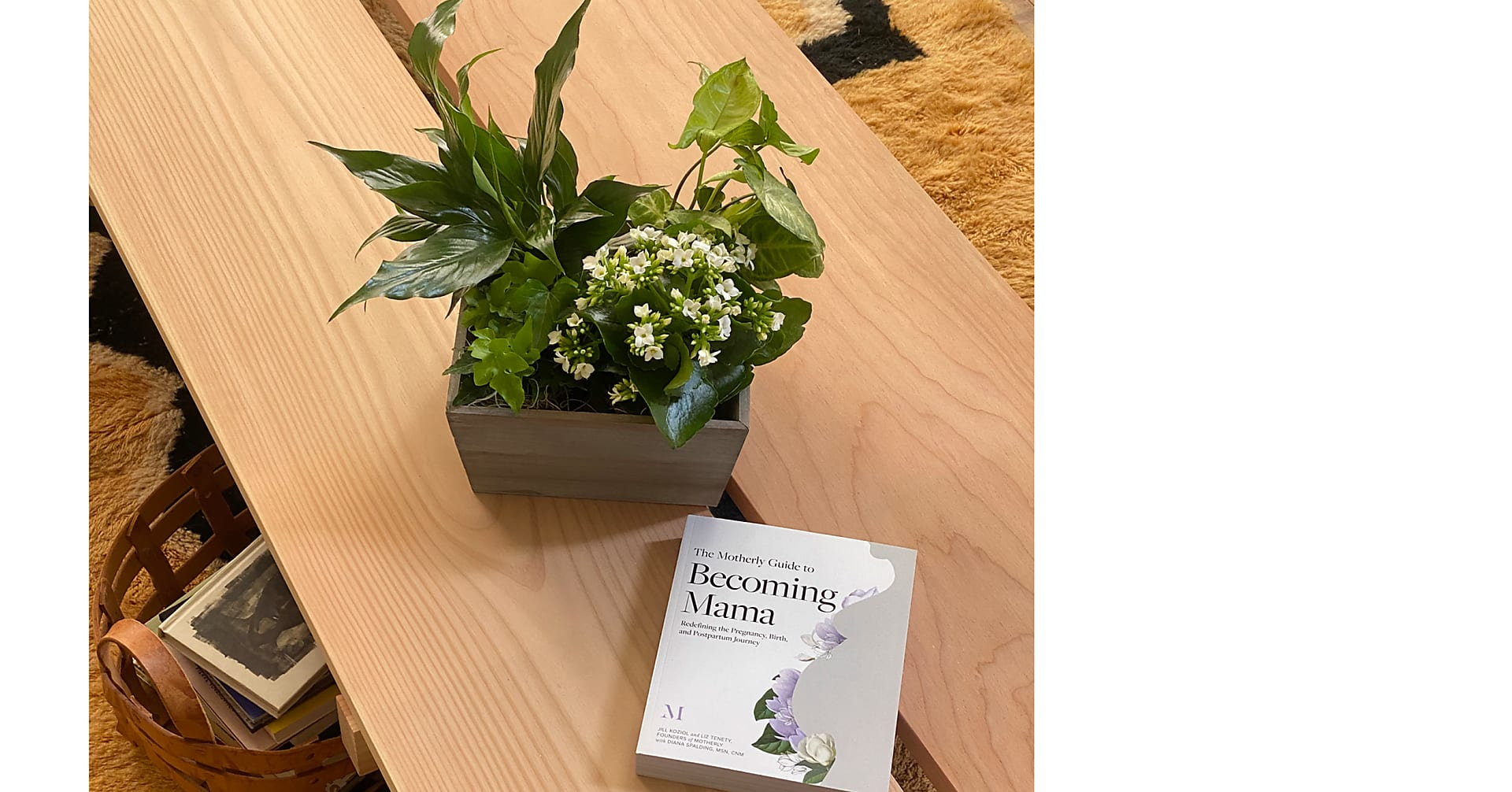 Becoming Mama Garden + Book by Motherly - Image 1 Of 2