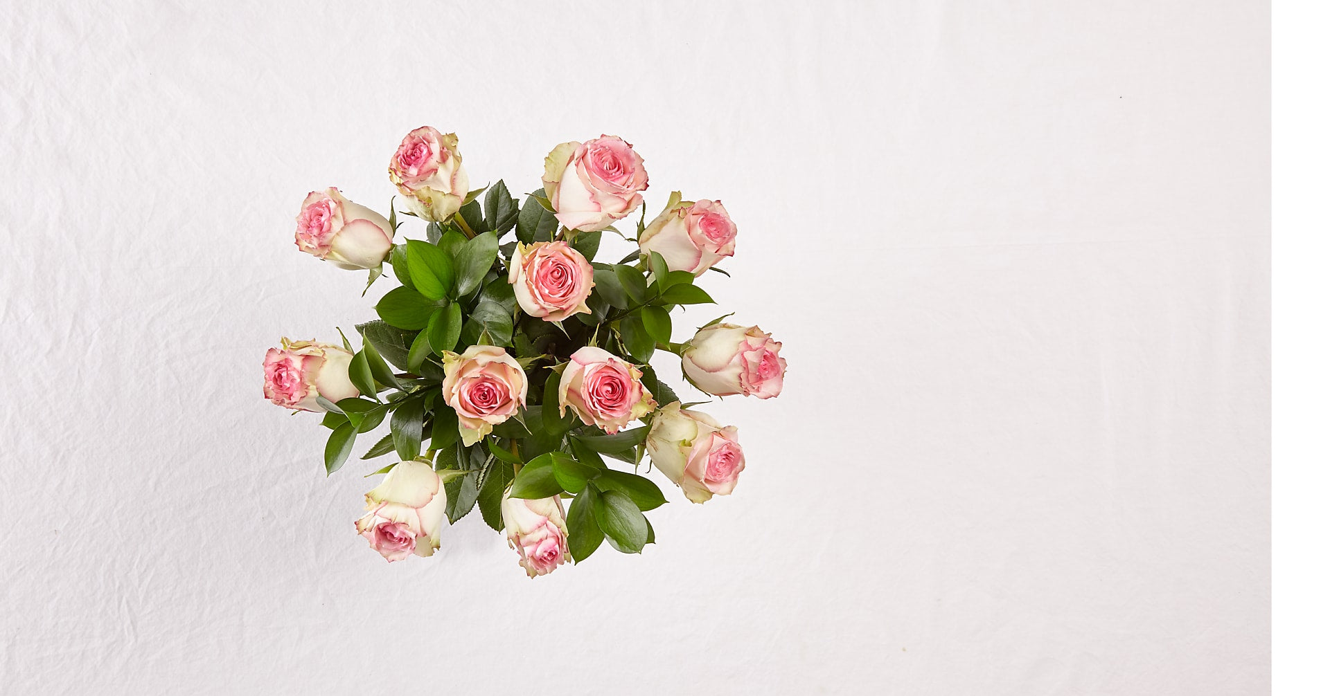 Pink Champagne Rose Bouquet - Image 2 Of 2