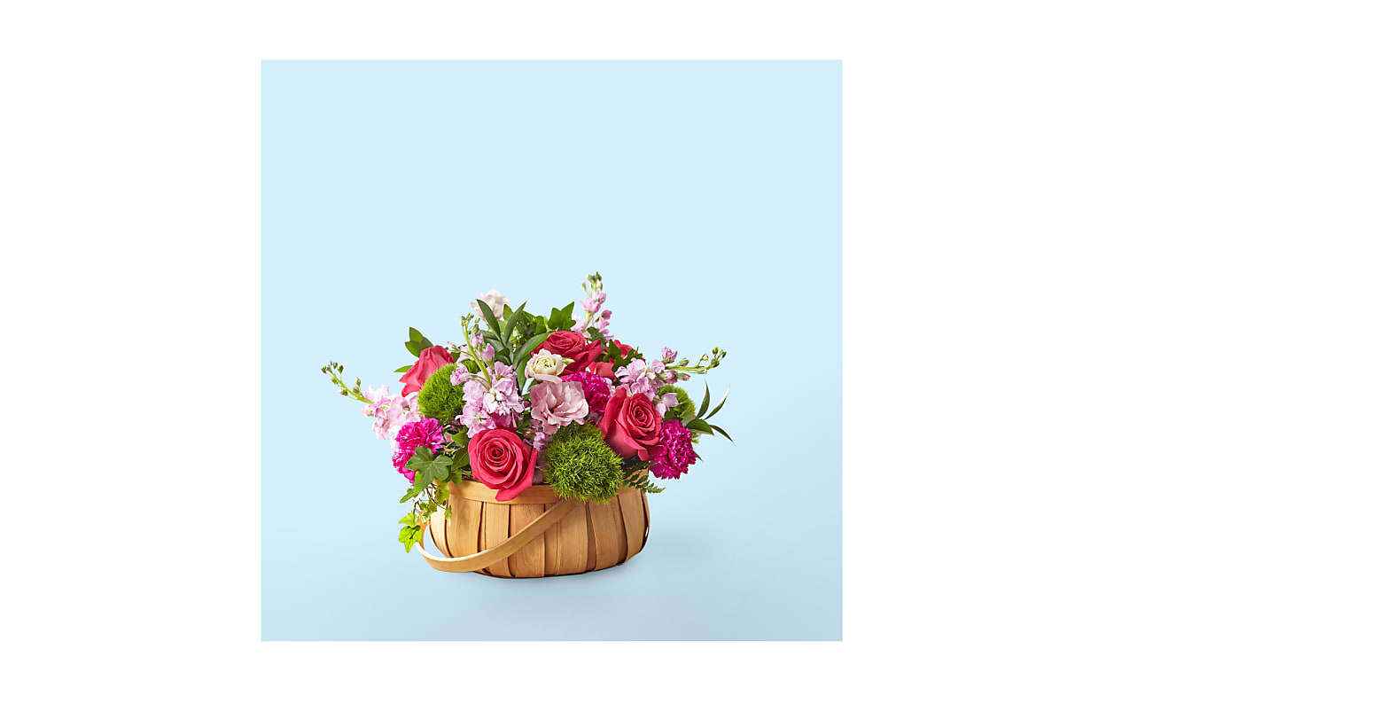 Radiance in Bloom Basket - Image 1 Of 2