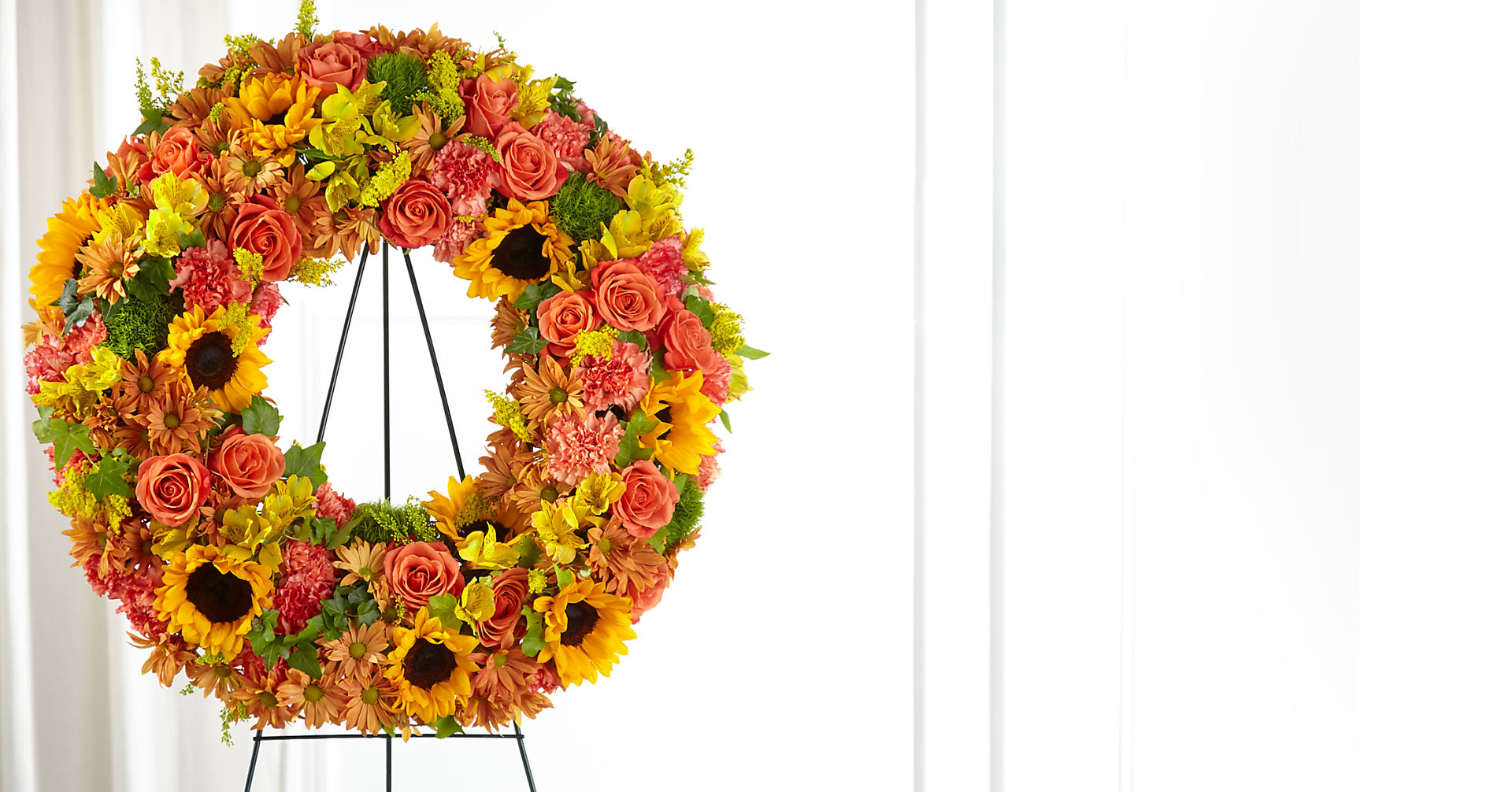 Autumnal Memories Wreath