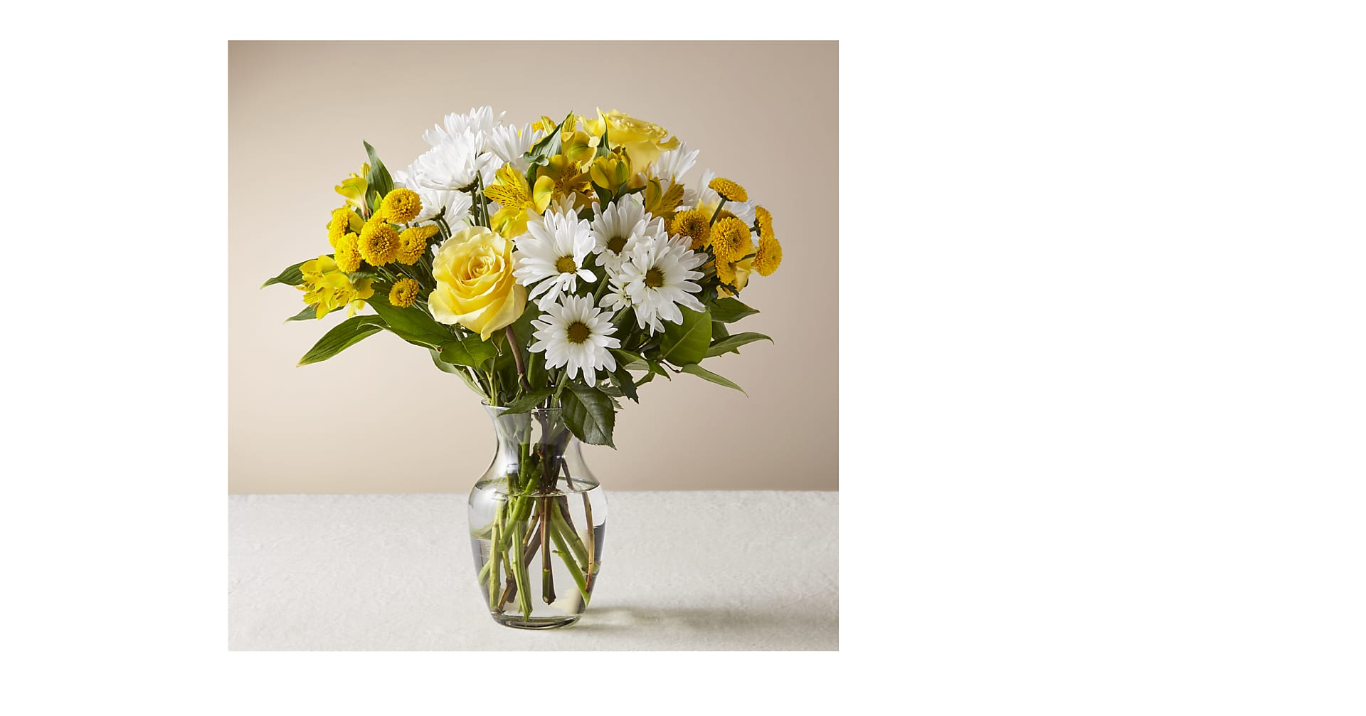 Sunny Sentiments Bouquet - Image 3 Of 5