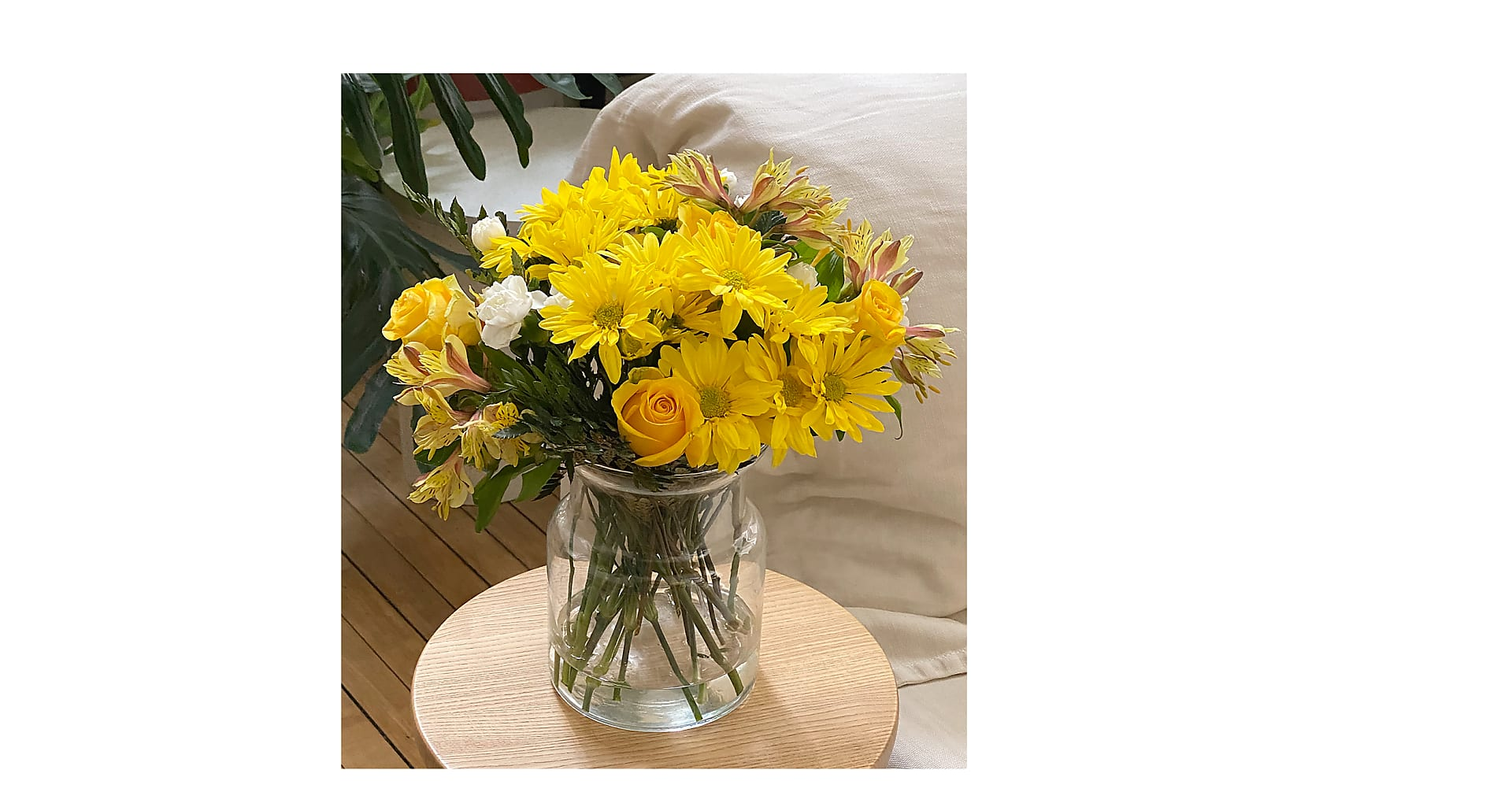 Sunny Sentiments Bouquet - Image 3 Of 3