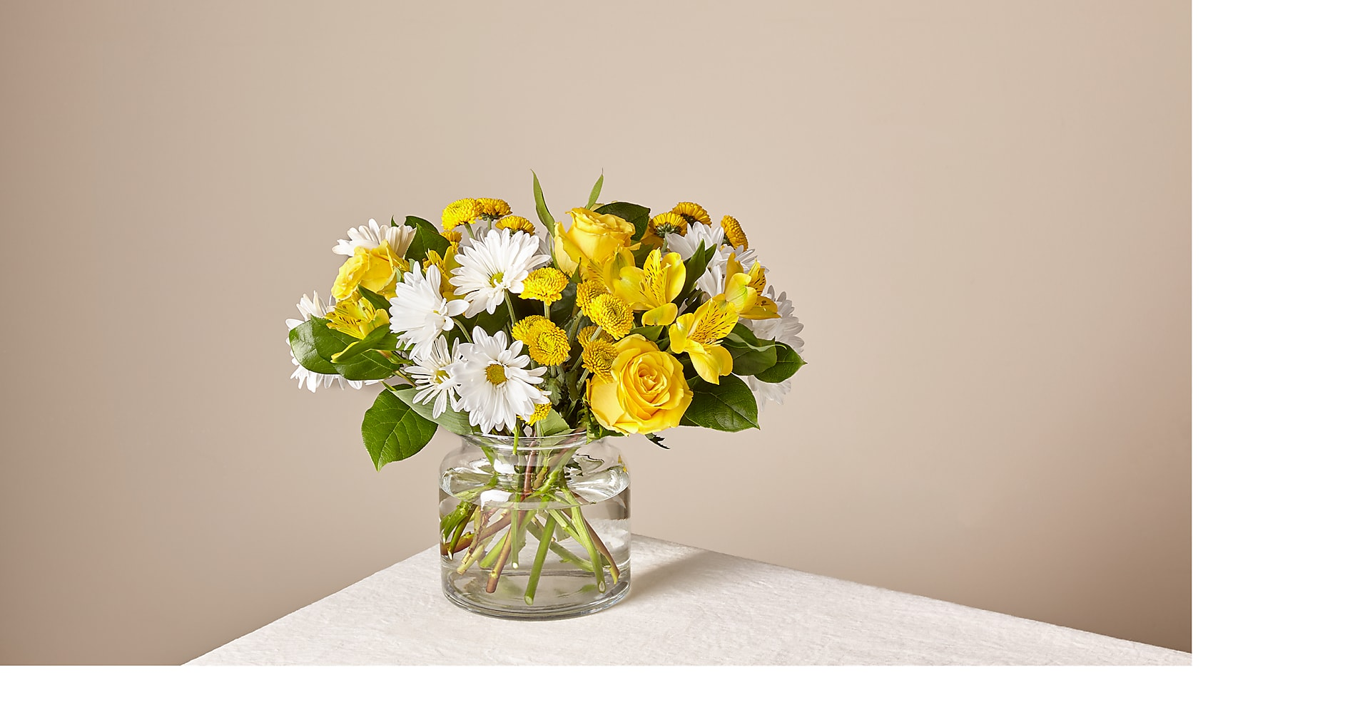 Sunny Sentiments Bouquet - Image 1 Of 5