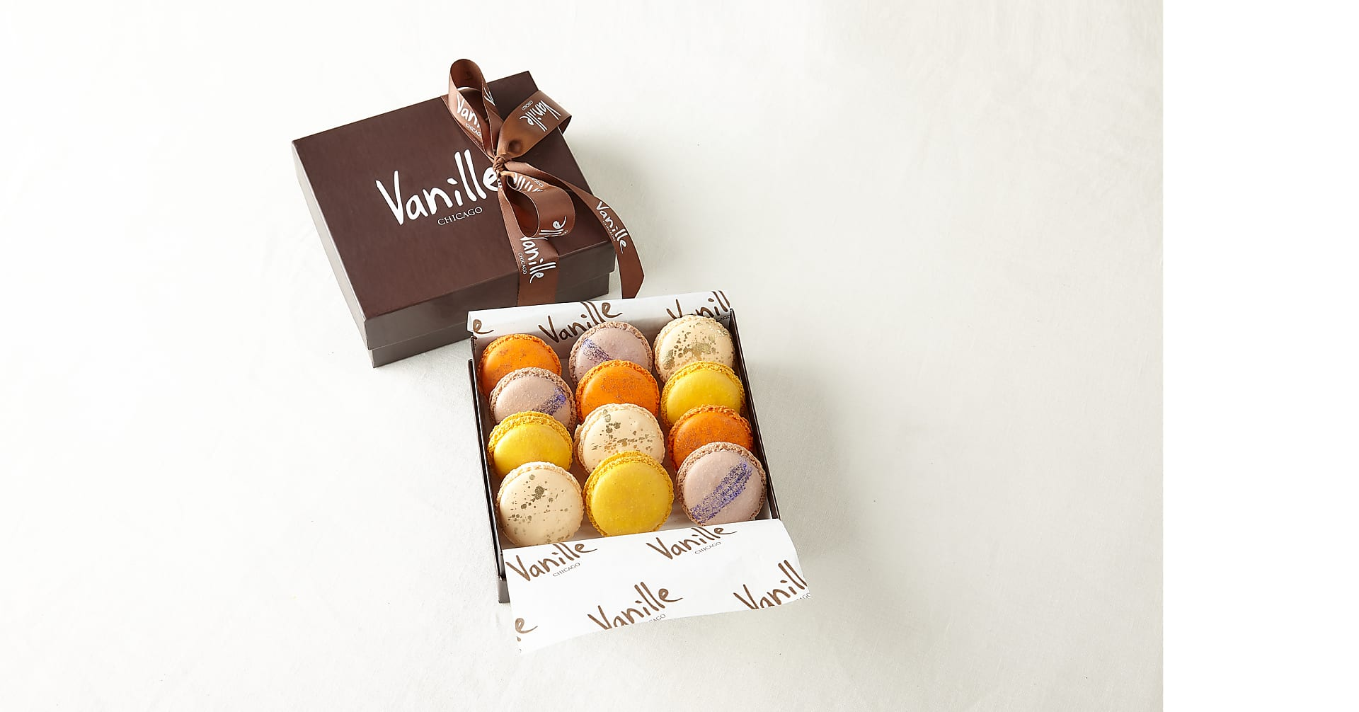 One Dozen Assorted Spring Macarons - Image 2 Of 2