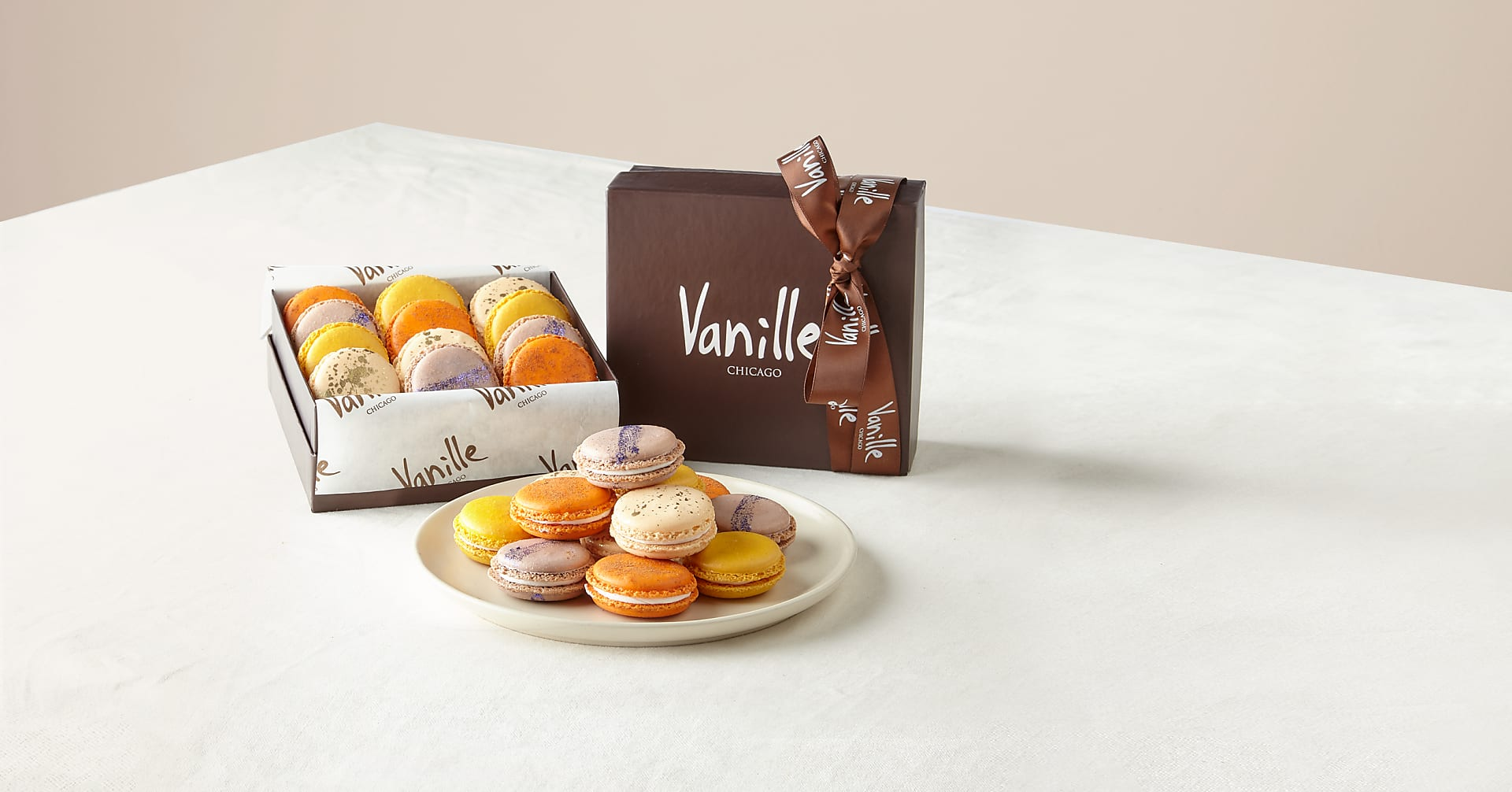 Two Dozen Assorted Spring Macarons - Image 1 Of 2