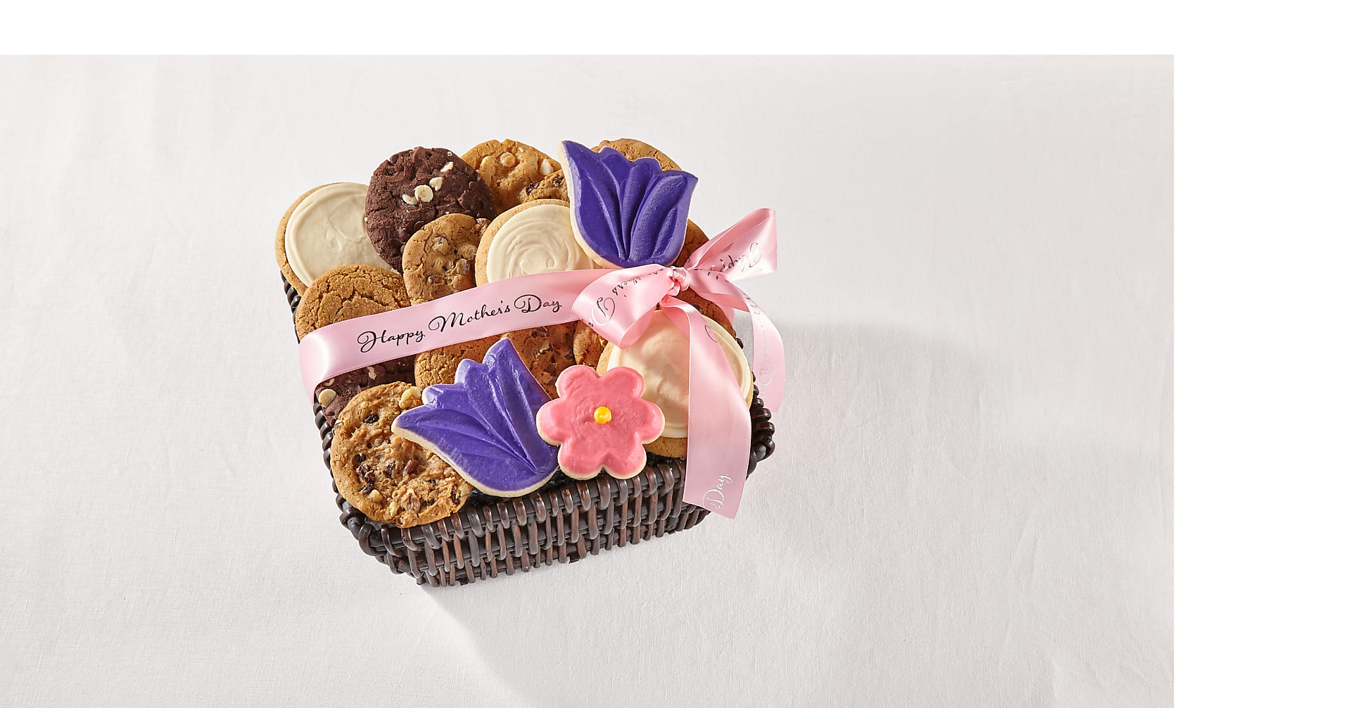 Mrs. Fields® Mother's Day Floral Cookie Basket