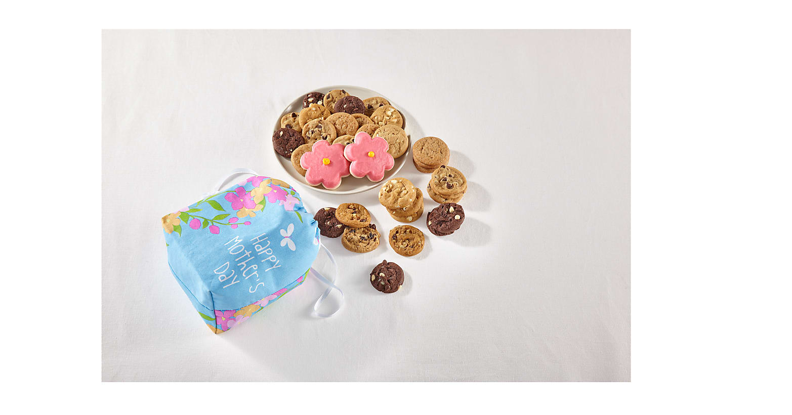 Mother's Day Treats & Floral Tote by Mrs. Fields® - Image 2 Of 2
