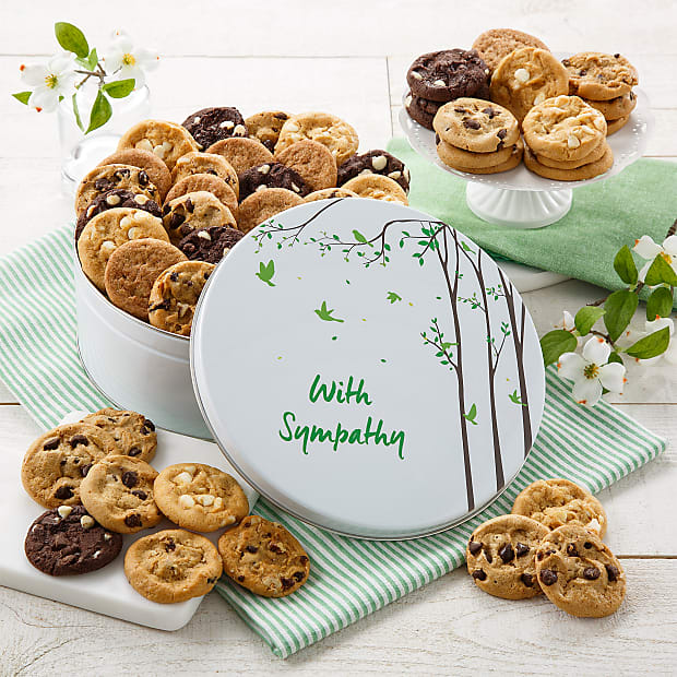 Mrs. Fields® 48 Nibbler With Sympathy Tin