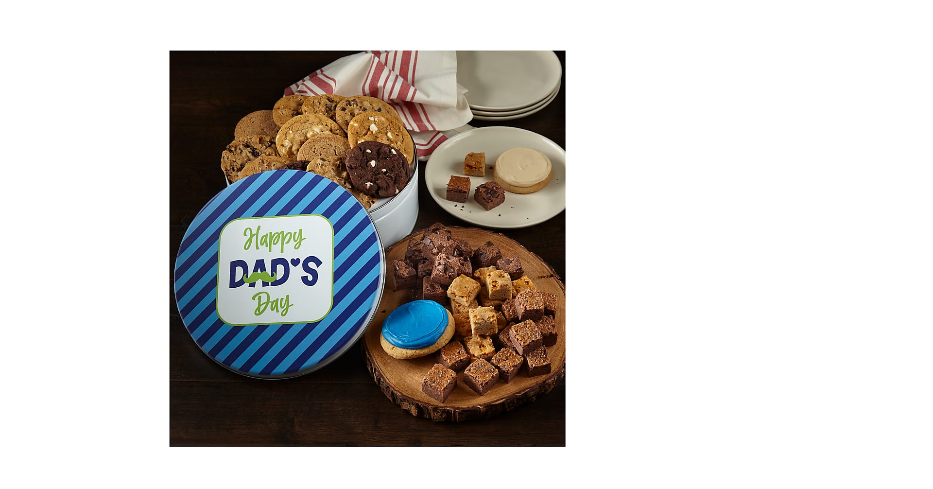 Mrs. Fields® Happy Dads Day Large Tin