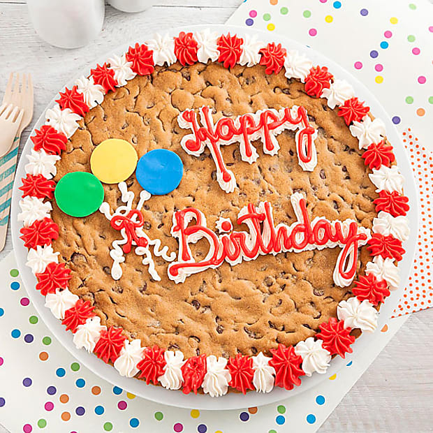 Mrs. Fields® Happy Birthday Big Cookie Cake